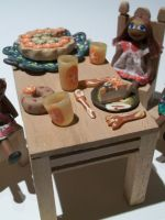 <p>Dolls & Food</p> <p>Claudia Stuart</p>
